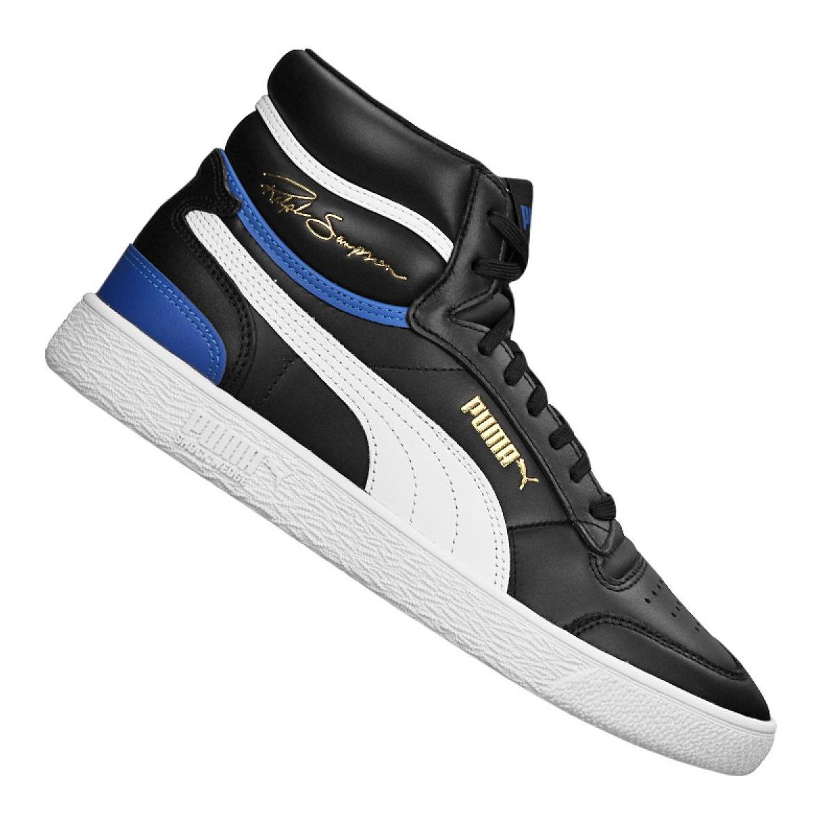 Puma Ralph Sampson Mid M 370847-17 basketball shoe black