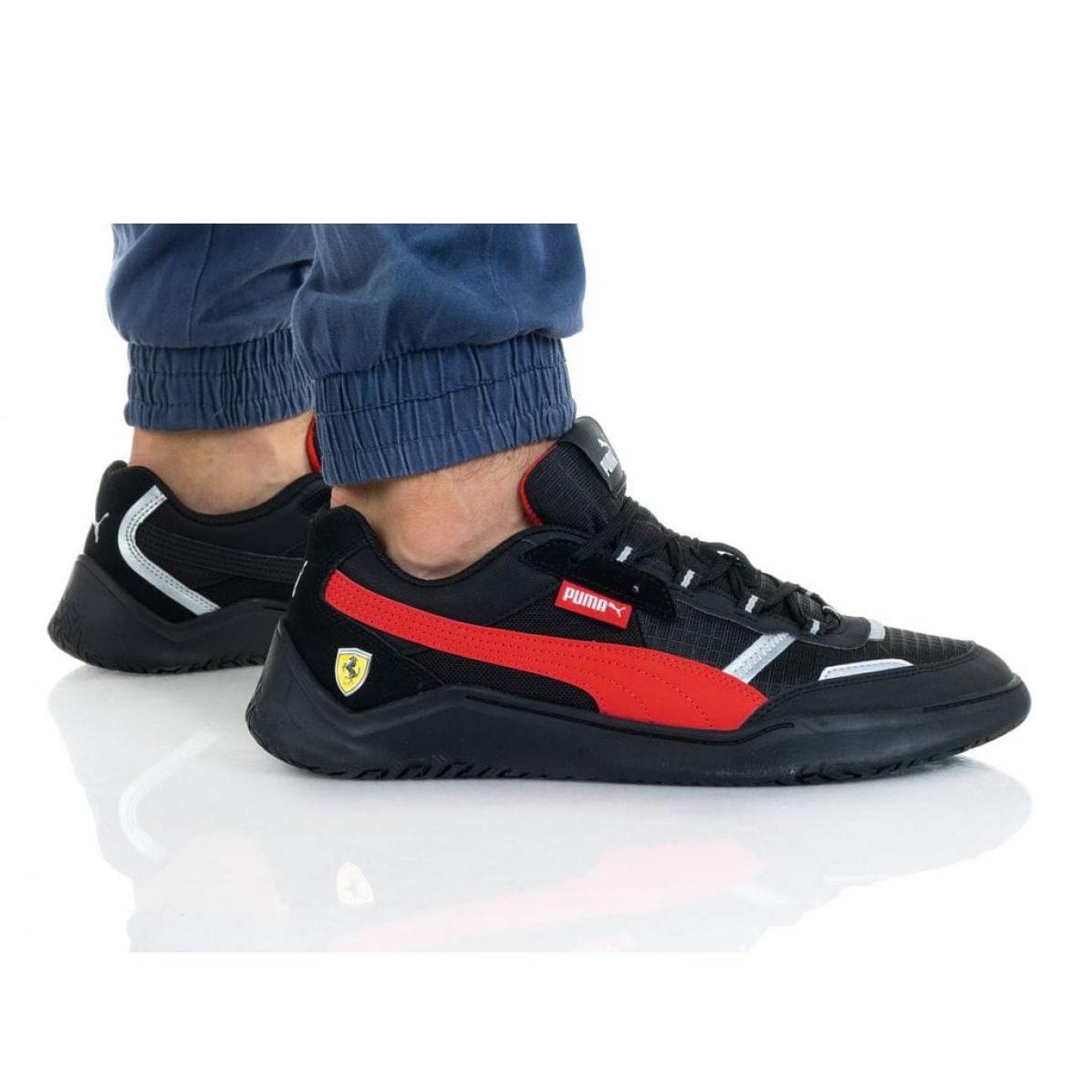 Puma Ferrari Race Dc Future M 306539 01 black red - KeeShoes