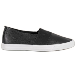 Bona Slip On Sneakers black