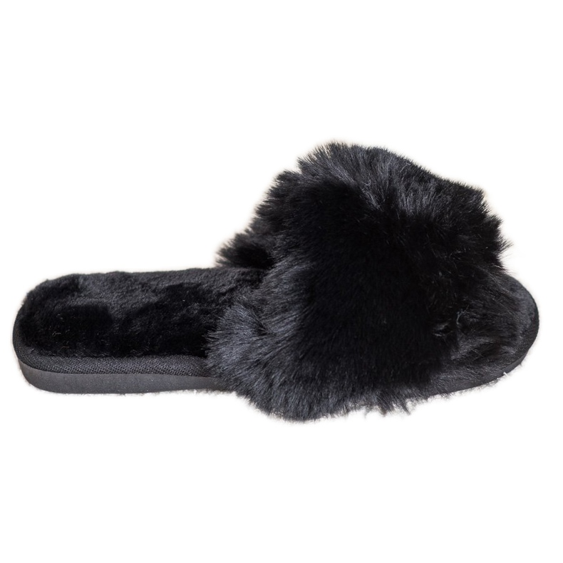 Bona Stylish Black Slippers