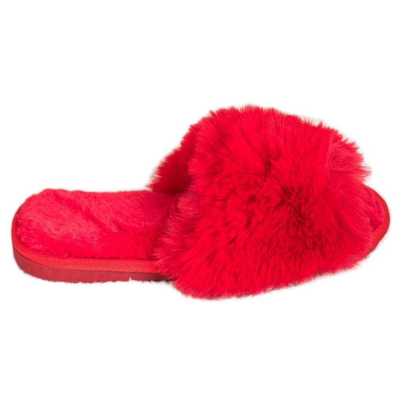 Bona Stylish Red Slippers