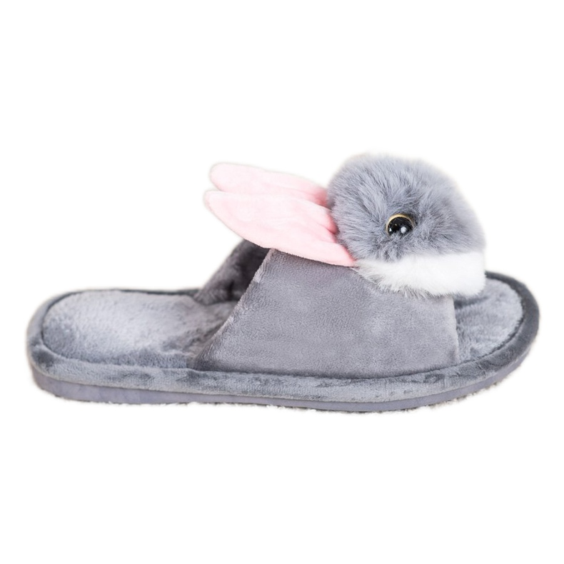 Bona Bunny slippers grey