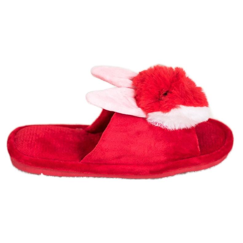 Bona Bunny slippers red