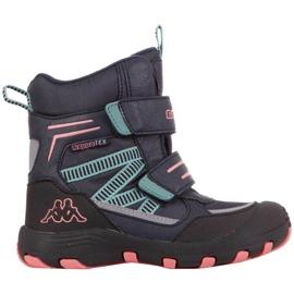Kappa Blackpool Tex Jr 260805K 6722 shoes navy blue