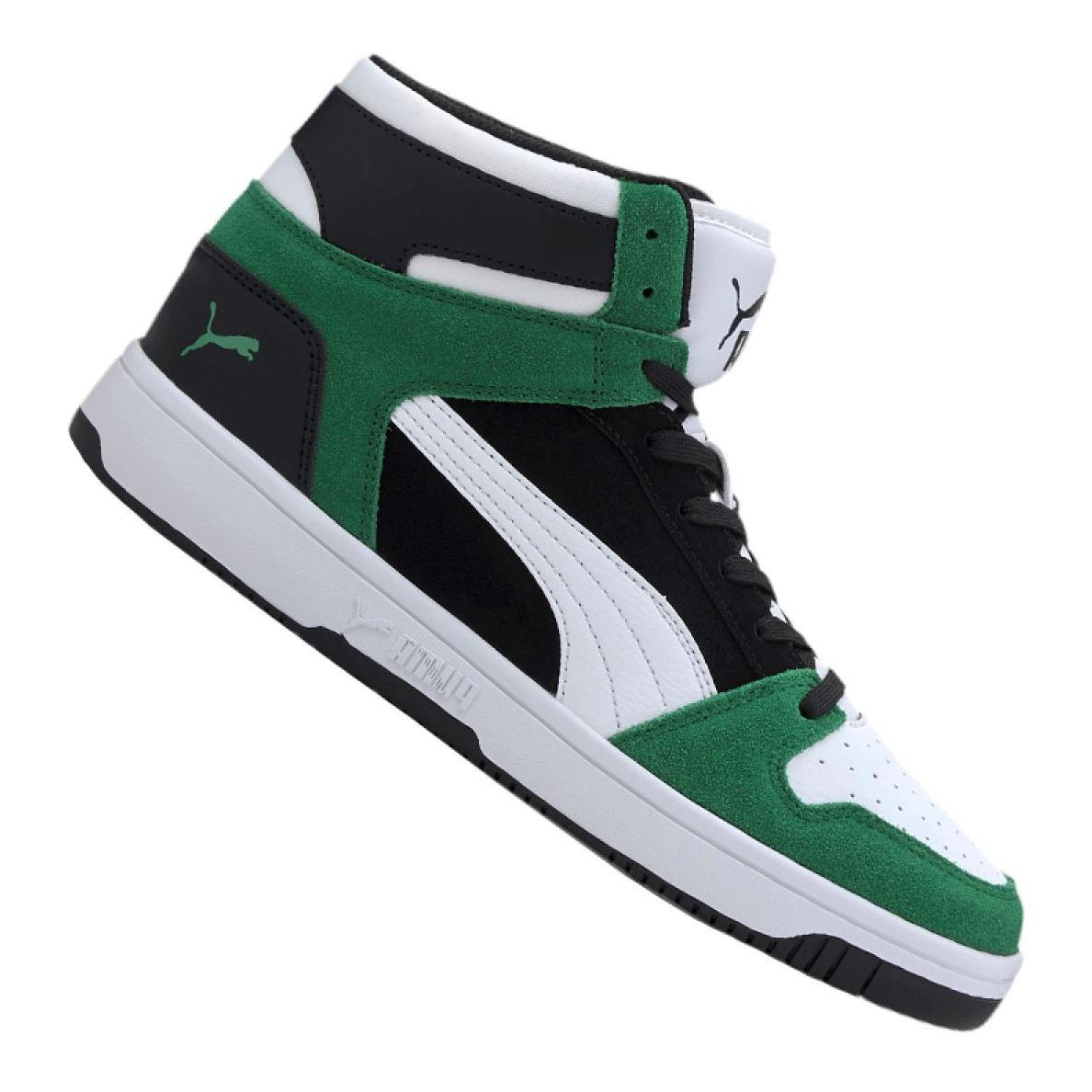 Puma Rebound LayUp Sd M 370219-05 white black green
