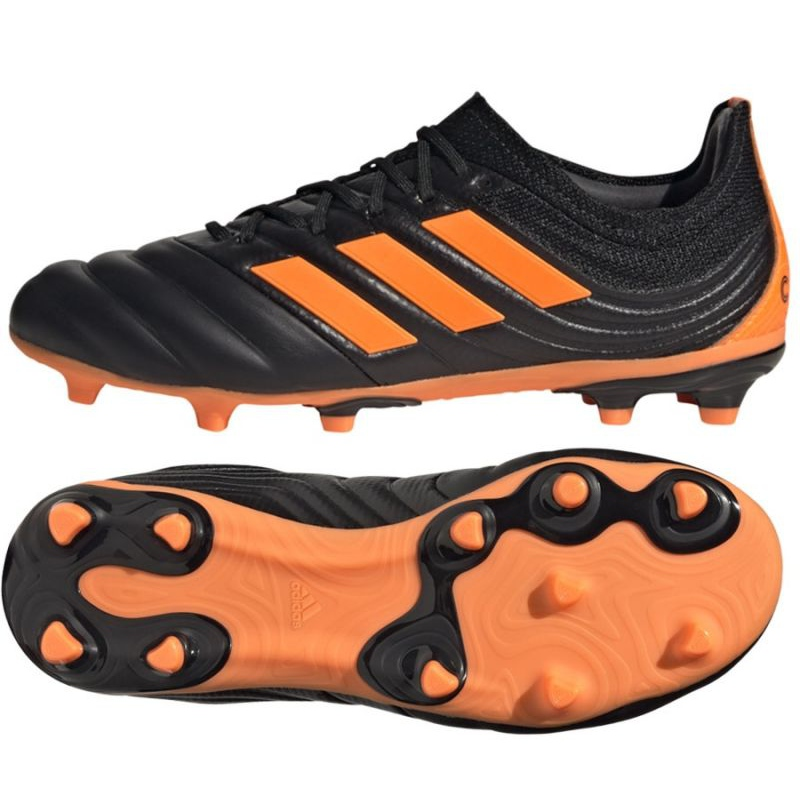 Adidas Copa 20.1 Fg Jr EH0887 football boots black orange, black, orange