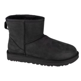 Boots Ugg W Classic Mini Leather W 1016558-BLK black