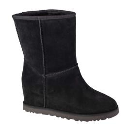 Ugg boots W Classic Femme Short W 1104611-BLK black