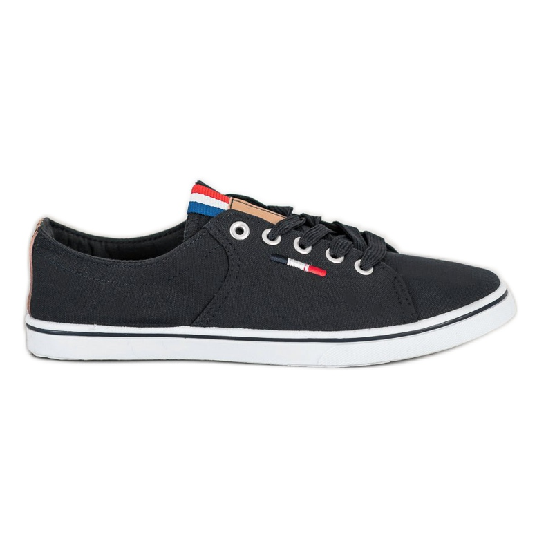 SHELOVET Black Sneakers