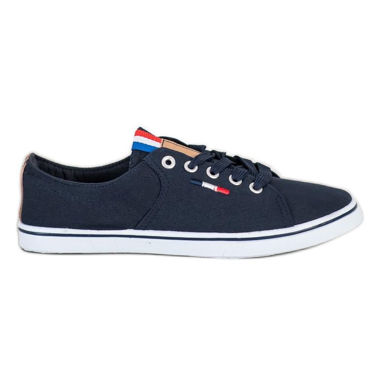 SHELOVET Navy sneakers navy blue