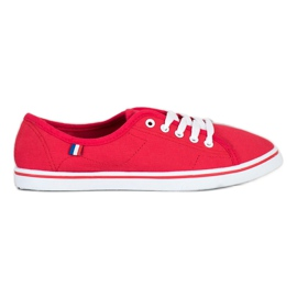 SHELOVET Red Sneakers