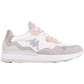 Kappa Laverton W 242930 1021 shoes white pink grey