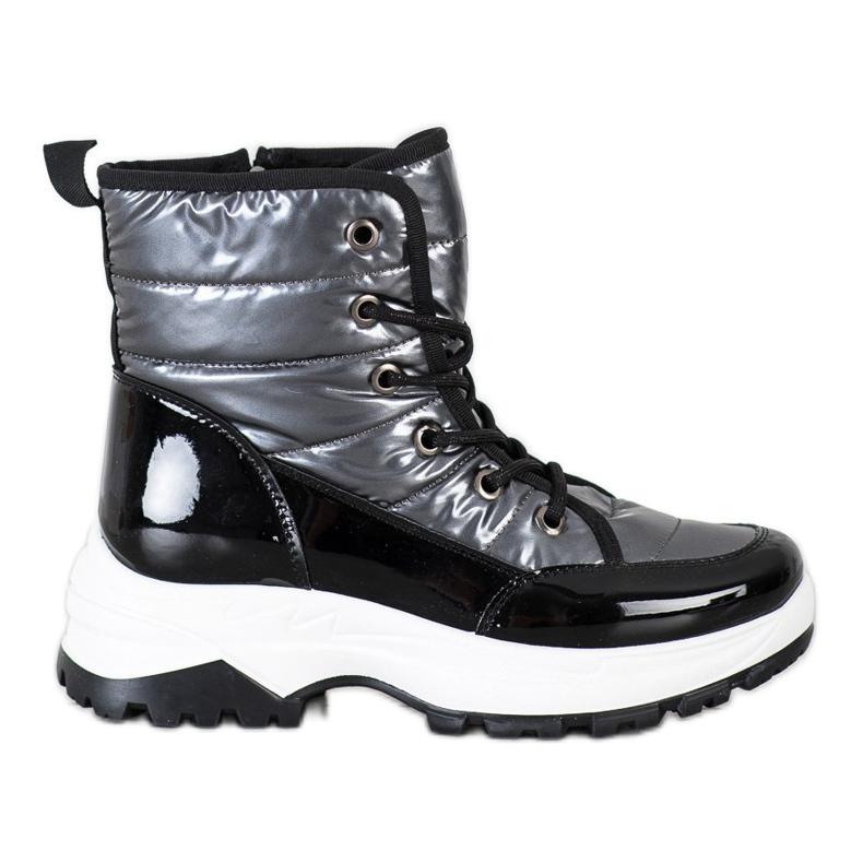 SHELOVET Comfortable Snow Boots black