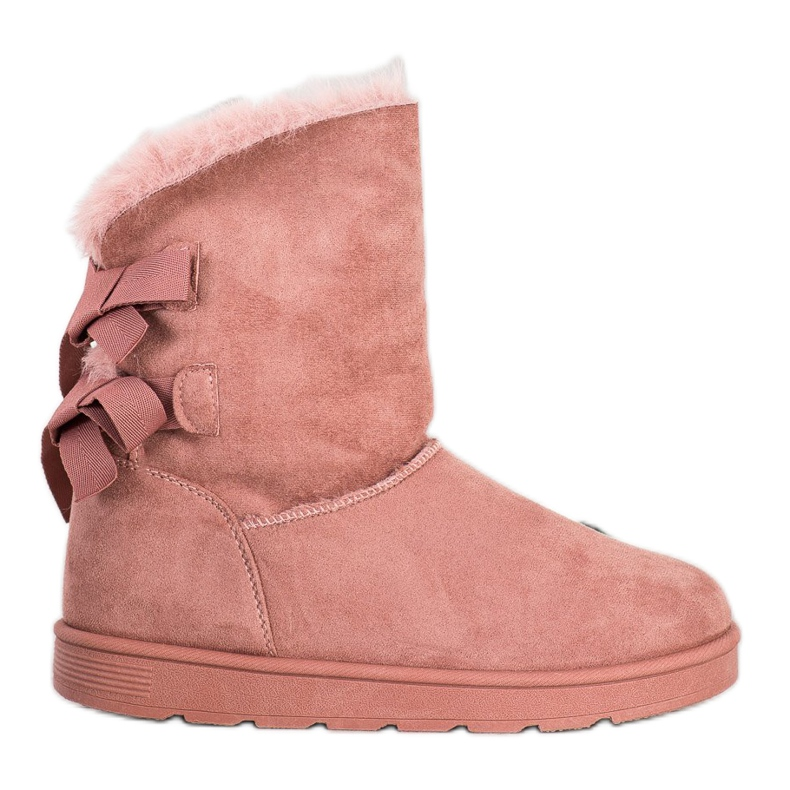 SHELOVET Fashionable Mukluki pink
