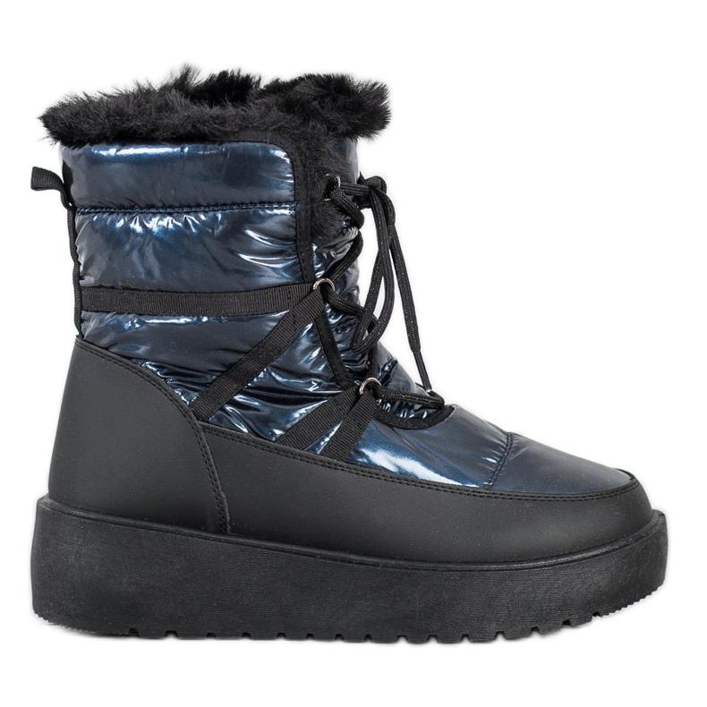 SHELOVET Snow Boots On The Platform black blue