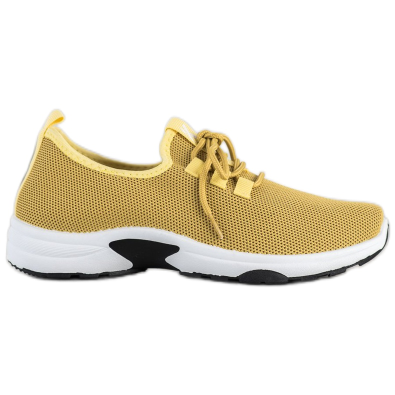 Kylie Classic Sport Shoes yellow