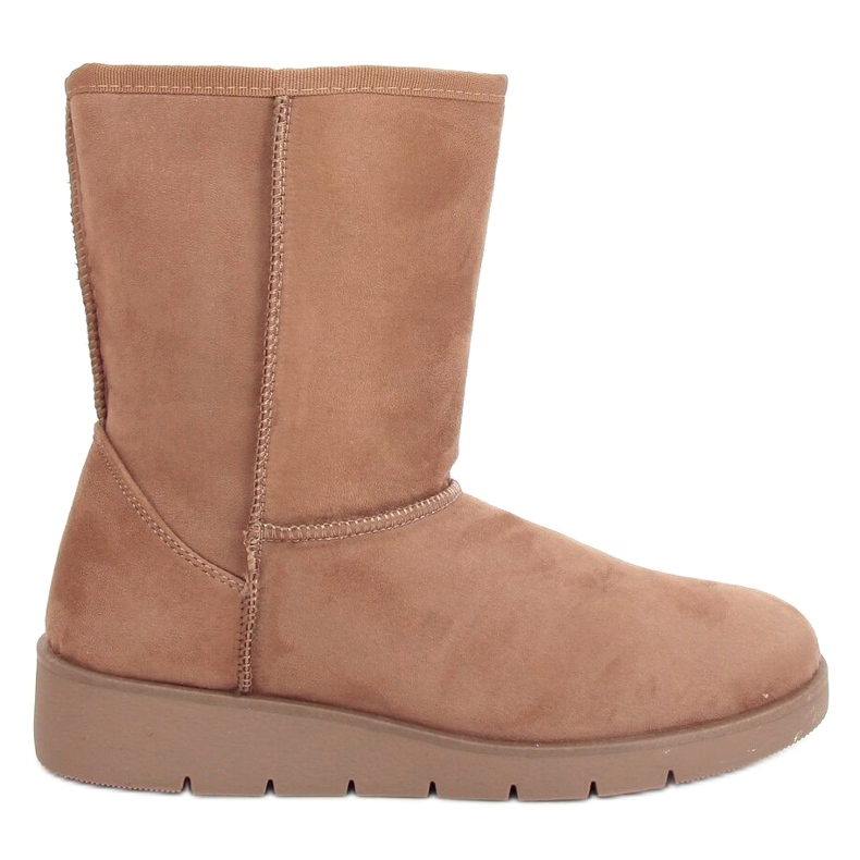 Beige emuses for women K1838403 Taupe