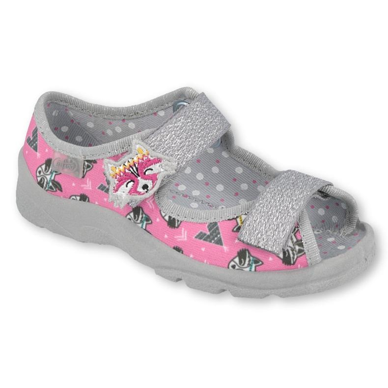 Befado children's shoes 969X162 pink silver