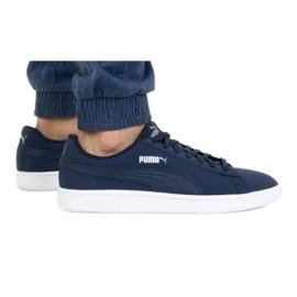 Shoes Puma Smash V2 Buck M 365160 15 navy blue - KeeShoes