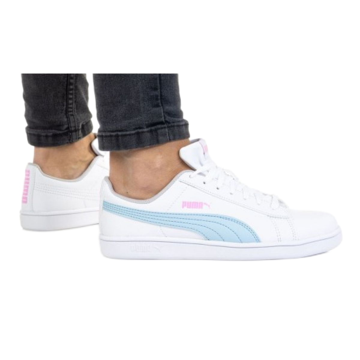 Puma Up Jr 373600 10 white