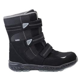 SHELOVET Snow boots. Velcro black