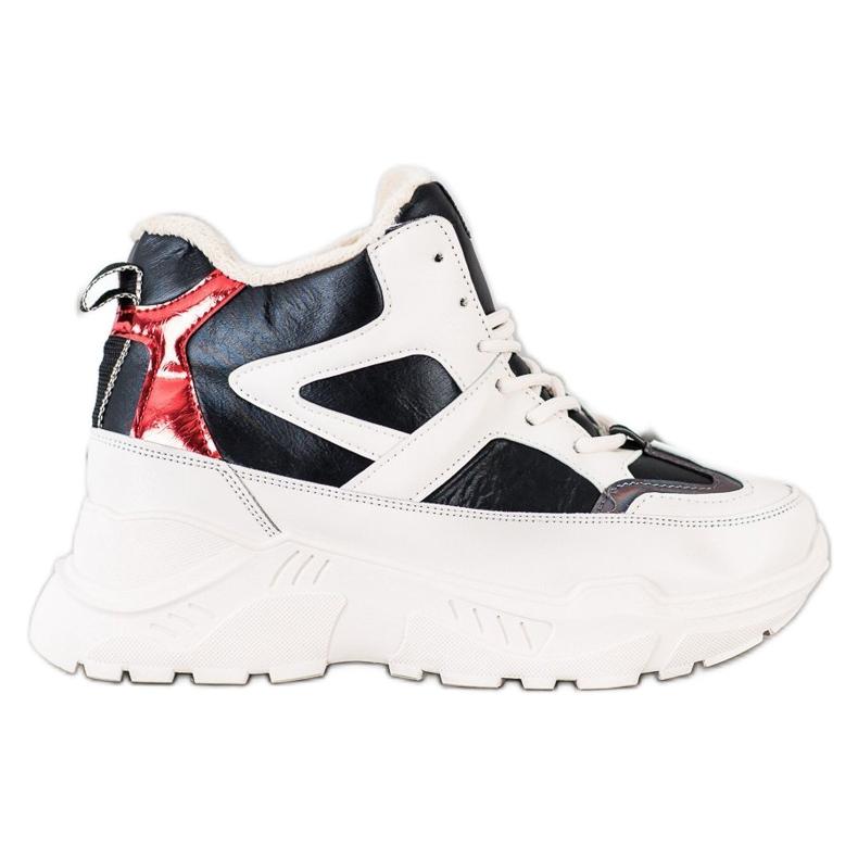 Seastar Sport Fashion Boots white black red