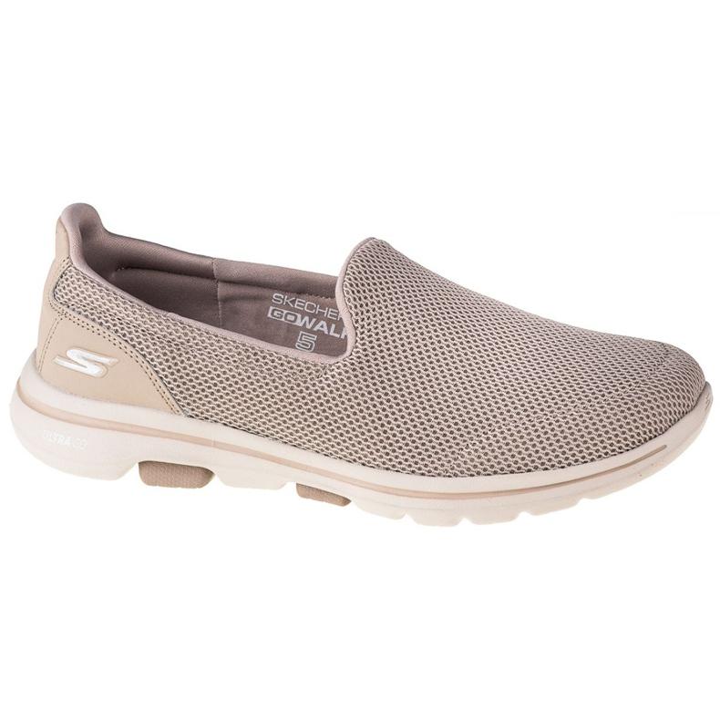 Skechers Go Walk 5 W 15901-TPE Shoes beige