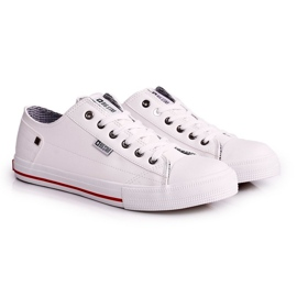Men's Leather Sneakers Big Star DD174260 White