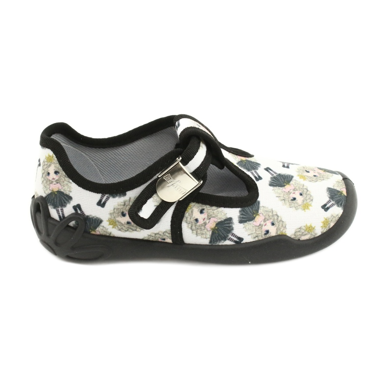 Befado children's shoes blanka princess 115X007 black ecru