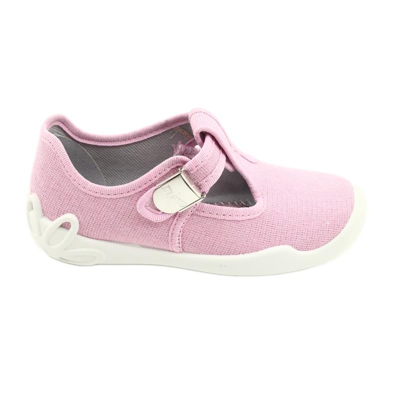 Befado children's shoes blanka pink 115X002 silver