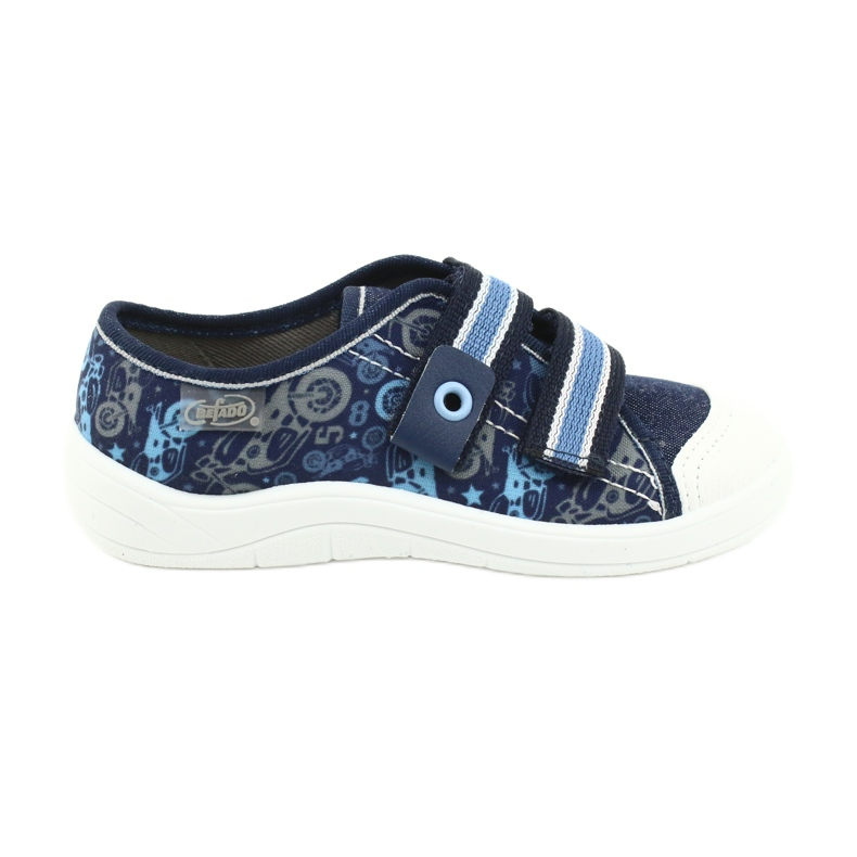 Befado children's shoes 672X073 navy blue blue multicolored