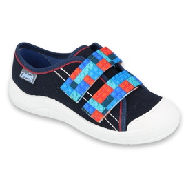 Befado children's shoes 672X071 red navy blue