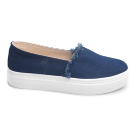 Slip On Jeans 80138 Navy Blue
