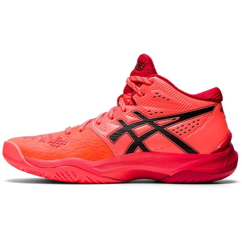 Asics Sky Elite Ff Mt Tokyo W 1052A048 701 volleyball shoes multicolored red