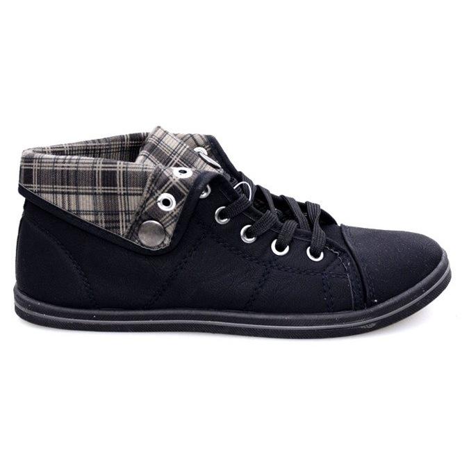High Sneakers Konwers DD52 Black
