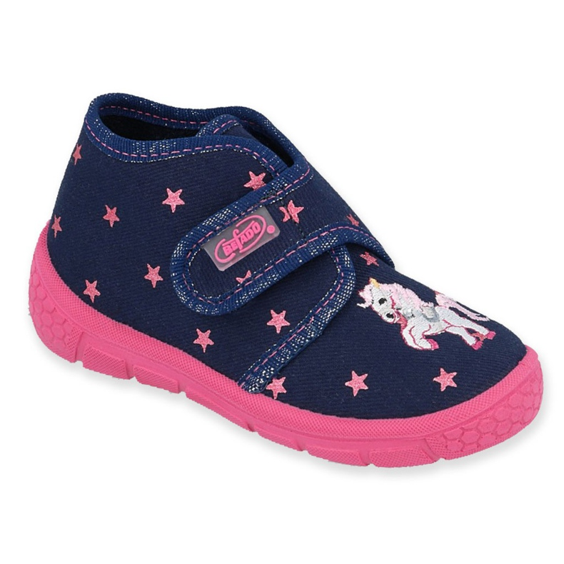 Befado children's shoes 538P015 navy pink