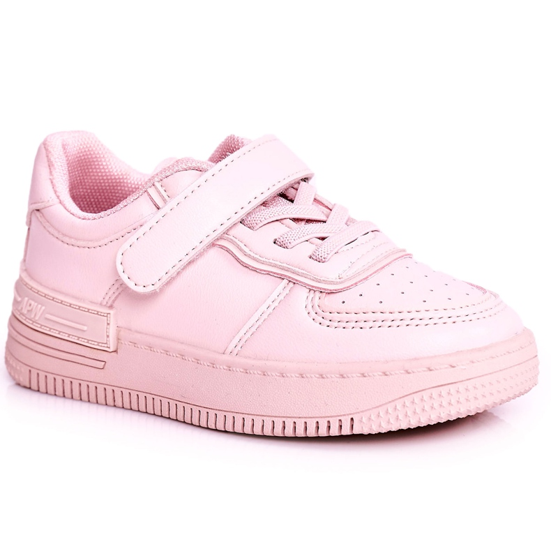 Apawwa Children's Sport Shoes With Velcro Pink Airy