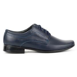 Lukas Children's formal communion shoes J1 navy blue