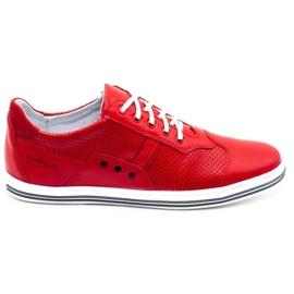 Polbut Casual men's shoes 1801L red