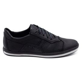 Polbut 1801P black casual men's shoes