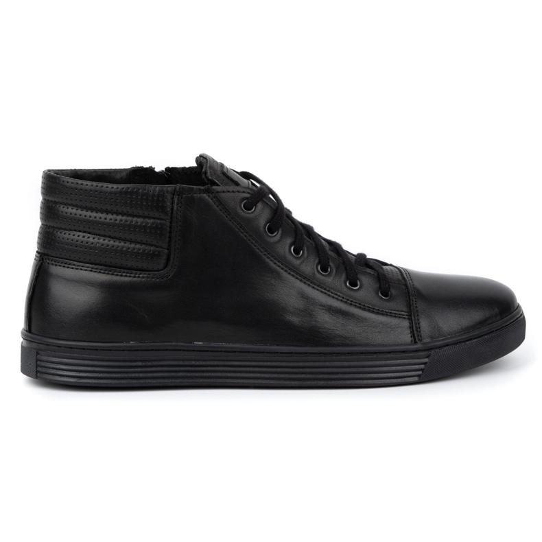 KENT 304 Men's Casual Shoes black