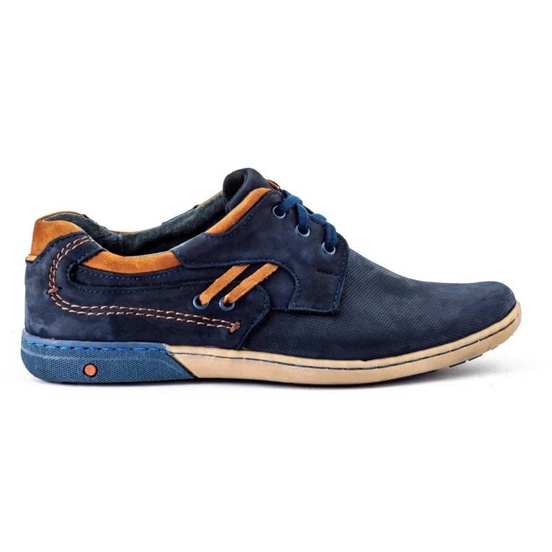 KOMODO Men's casual shoes 861L navy blue