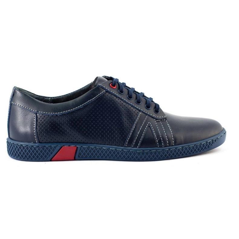 KOMODO Men's casual shoes 910 navy blue