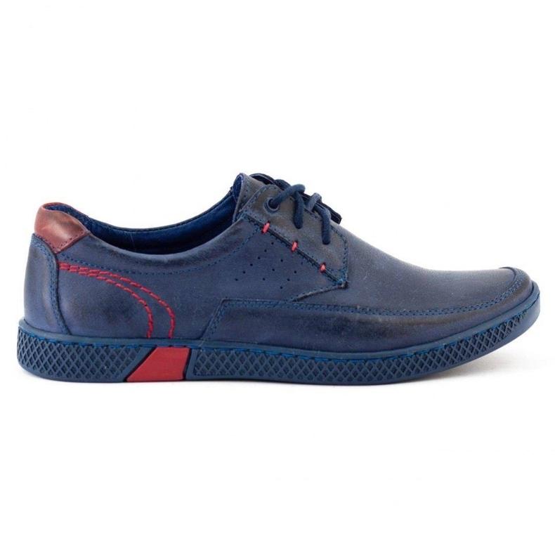 KOMODO Men's casual shoes 911 navy blue