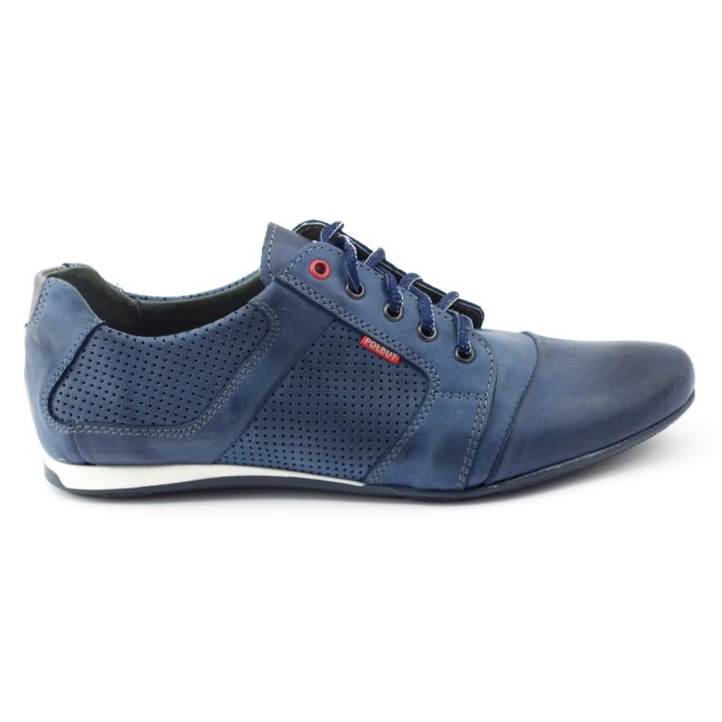 Polbut Casual men's shoes C34P Navy Blue