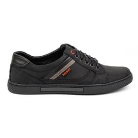 Polbut Black men's shoes J47