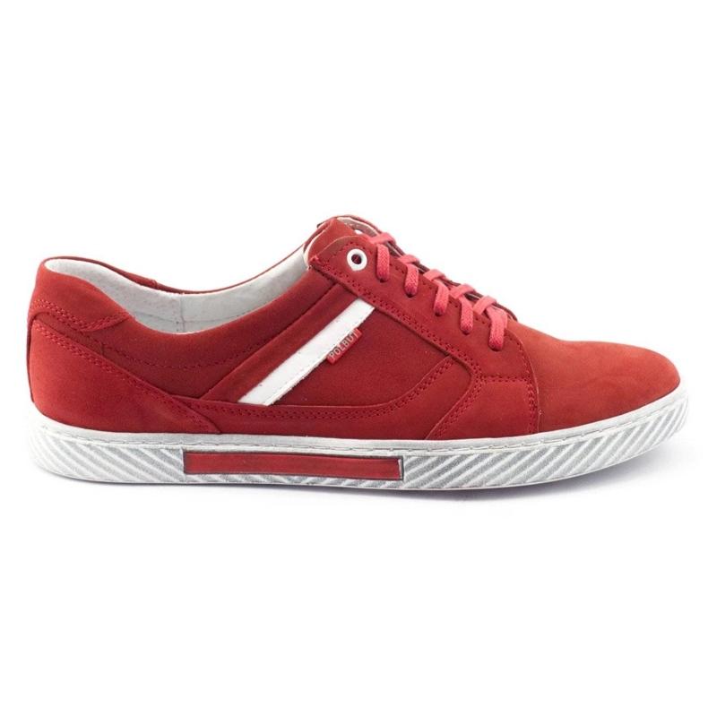 Polbut J47 red men's shoes