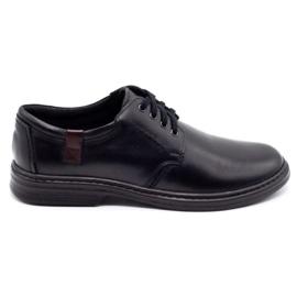 Joker Leather men's shoes 415 black