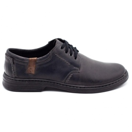 Joker Leather men's shoes 415 gray grey