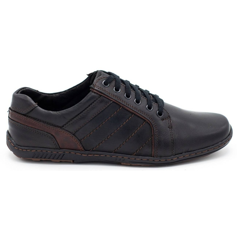 Mario Pala Men's leather shoes 616 black